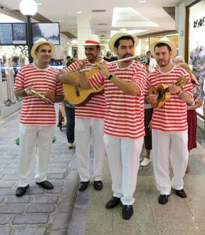 Chorinho com o quarteto Rio Instrumental Shopping Tijuca